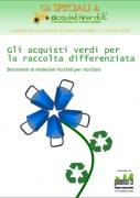 Gli acquisti verdi per la raccolta differenziata: strumenti in materiale riciclato per riciclare - AcquistiVerdi.it
