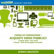 A Cesena, seminario gratuito per scuole e Comuni romagnoli - AcquistiVerdi.it