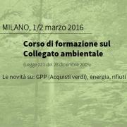 Collegato Ambientale: corso di formazione - AcquistiVerdi.it
