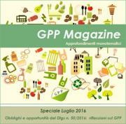 On line il Magazine GPP del Ministero dell'Ambiente  - AcquistiVerdi.it