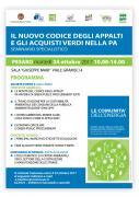 Pesaro, seminario sul GPP il 24 ottobre - AcquistiVerdi.it