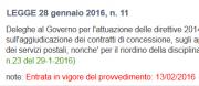 Riforma Appalti: in vigore la legge delega - AcquistiVerdi.it
