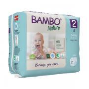 Pannolini ecologici monouso BAMBO Nature - Bimbo e Natura - Per te, Mamme e Bimbi, Pannolini