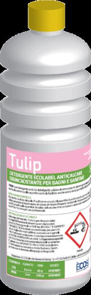 TULIP - Anticalcare bagni e sanitari Ecolabel UE - È COSÌ  - GPP, Pulizia e prodotti per l'igiene, Prodotti pulizia superfici, Ho.Re.Ca.