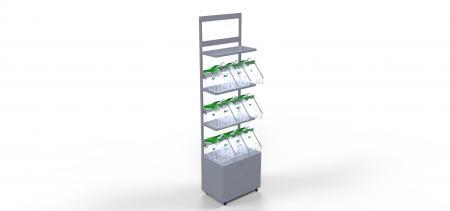 Corner per prodotti sfusi (es: caramelle) - Idea Style - GPP, Imballaggi, Ho.Re.Ca.