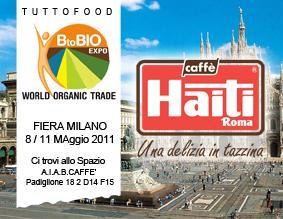 Caffè Haiti Roma alla fiera BtoBIO 2011 - AcquistiVerdi.it