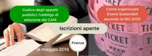 CAM obbligatori ed Eventi Sostenibili: corsi di formazione - AcquistiVerdi.it