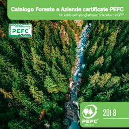 Catalogo delle aziende PEFC 2018 - AcquistiVerdi.it