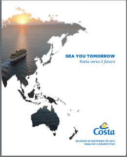 Costa Crociere, Bilancio di Sostenibilità 2015 - AcquistiVerdi.it