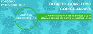 Decreto correttivo Nuovo Codice Appalti: corso di aggiornamento - AcquistiVerdi.it