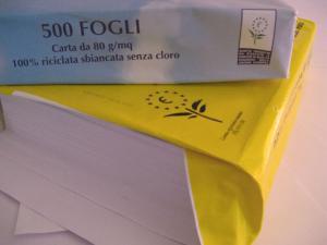 Ecolabel, novità per la carta - AcquistiVerdi.it
