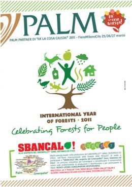L'impegno per l'ambiente di Palm a Fa' la Cosa Giusta 2011 - AcquistiVerdi.it
