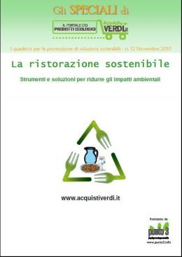 La sostenibilità nella ristorazione, le soluzioni nello Speciale di dicembre - AcquistiVerdi.it