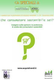"""Speciale indagine """"Che consumatore sostenibile sei?"""" - AcquistiVerdi.it"""
