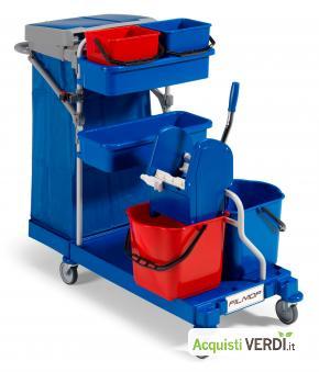 Carrello multiuso MORGAN - FILMOP INTERNATIONAL - GPP, Pulizia e prodotti per l'igiene, Attrezzatura Professionale, Ho.Re.Ca.