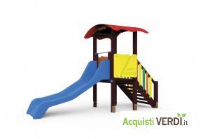 Gioco torre in plastica riciclata - Green Projects - Per gli Alberghi, Arredi, Arredo Urbano, Per il GPP, Per l'Azienda, Per la Scuola