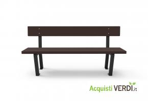 Panchina con una stecca - Green Projects - Per gli Alberghi, Arredi, Arredo Urbano, Per il GPP, Per l'Azienda, Per la Scuola