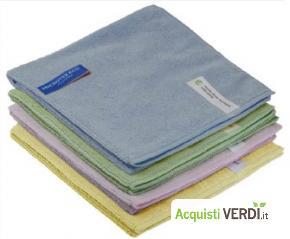 Microtex Eco Panno in microfibra - Eudorex PRO - GPP, Pulizia e prodotti per l'igiene, Attrezzatura Professionale, Prodotti pulizia superfici, Ho.Re.Ca.