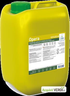 OPERA ammorbidente Ecolabel UE - È COSÌ  - GPP, Pulizia e prodotti per l'igiene, Prodotti pulizia tessuti, Ho.Re.Ca.