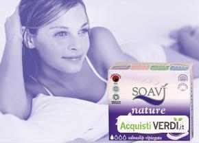 Salvaslip piegati Soavì Nature - Farmac Zabban - Per la Persona, Cosmesi e Igiene Personale, Igiene Femminile
