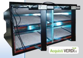 Sistemi di filtrazione dell'aria V-Bank - AirQM - GPP, Servizi energetici per gli edifici, Produzione di Energia, Calore e Raffrescamento, Edilizia, Ho.Re.Ca.