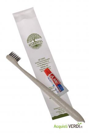 Spazzolino denti biodegradabile - Fas Italia srl - Ho.Re.Ca., Prodotti cortesia